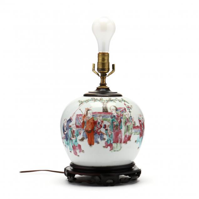 a-chinese-famille-rose-porcelain-ginger-jar-lamp