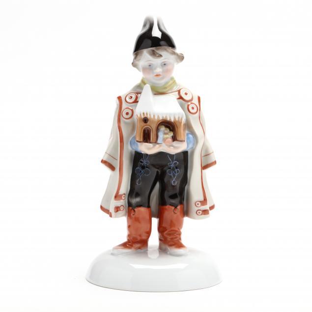 herend-natural-figure-boy-holding-manger
