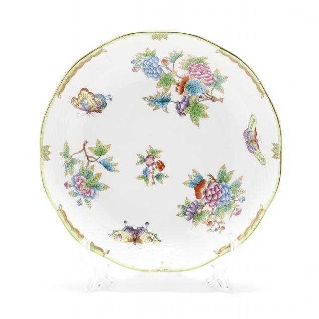 herend-porcelain-queen-victoria-bowl