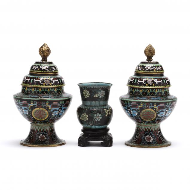 three-chinese-cloisonne-articles