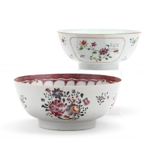 two-chinese-export-punch-bowls