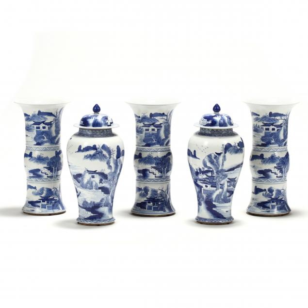 a-set-of-five-chinese-blue-and-white-porcelain