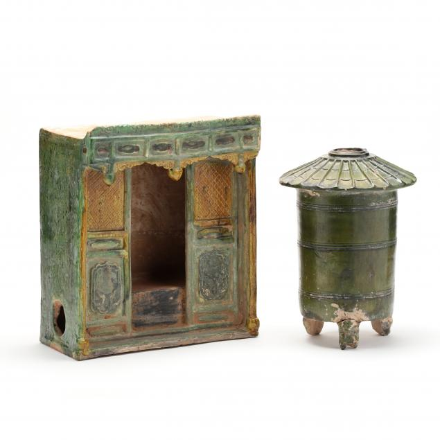 two-chinese-han-dynasty-style-funerary-items