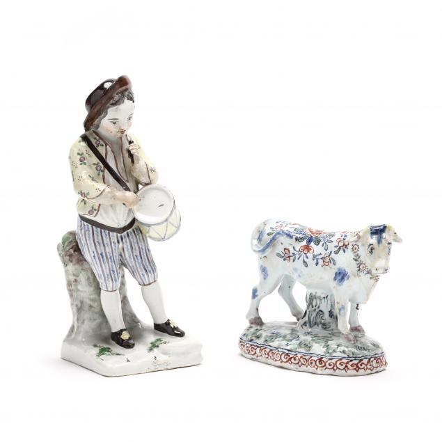 two-early-faience-pottery-figures