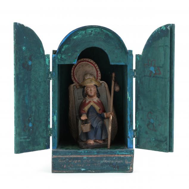 antique-mexican-shrine-of-santo-nino-de-atocha