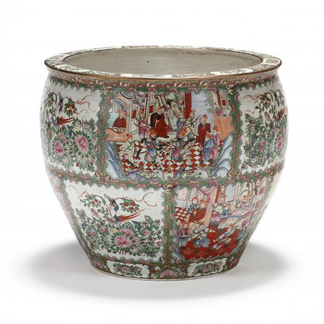 a-large-chinese-rose-medallion-fish-bowl-jardiniere