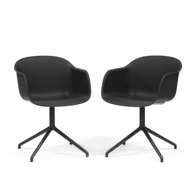 muuto-pair-of-fiber-shell-chairs