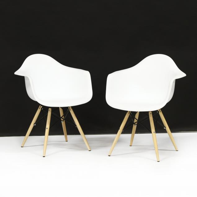 pair-of-eames-style-shell-chairs