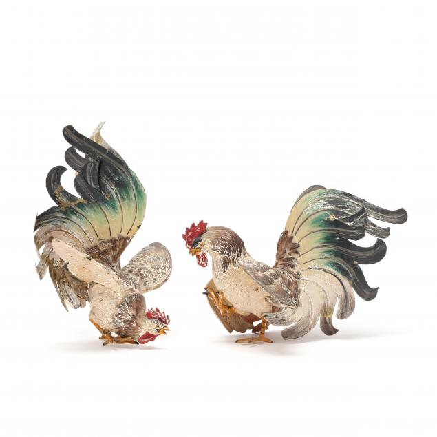 pair-of-vintage-cold-painted-brass-fighting-cocks
