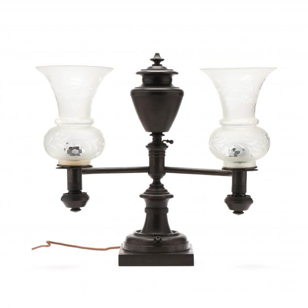 baldwin-gardiner-american-empire-bronze-argand-lamp