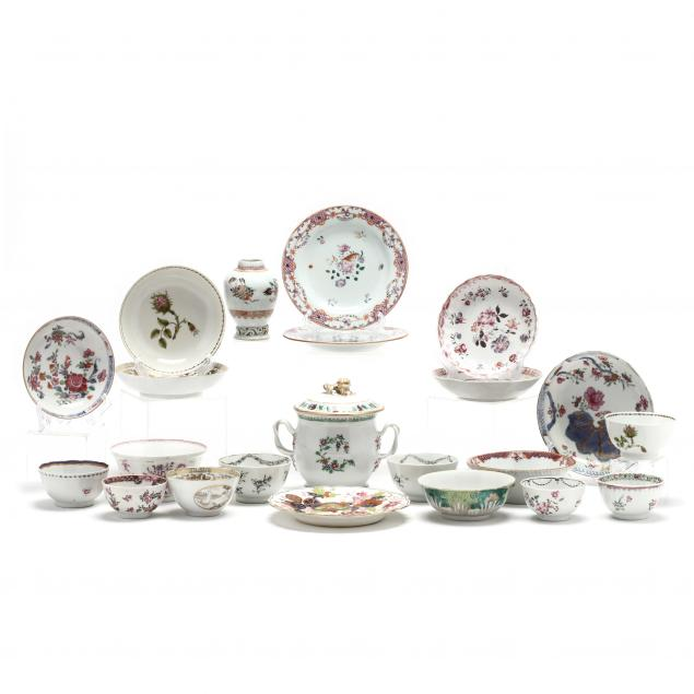 a-large-group-of-chinese-export-porcelain