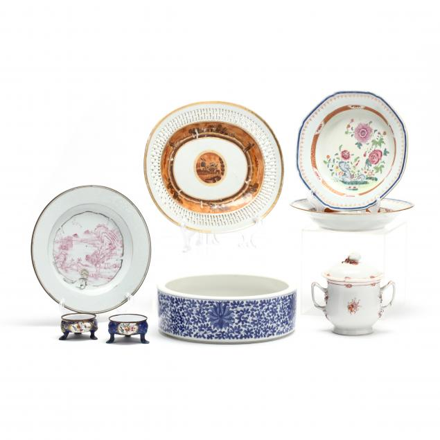 eight-pieces-of-chinese-porcelain