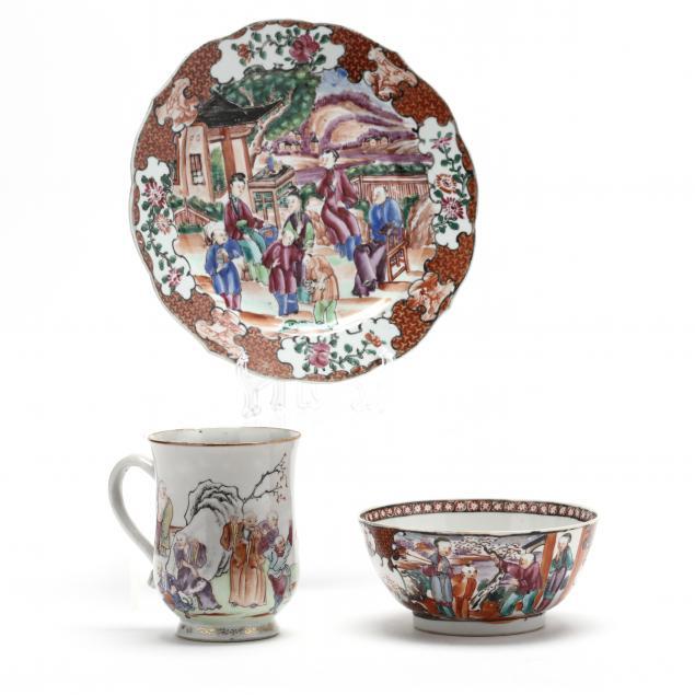 chinese-export-porcelain-rose-mandarin-tableware