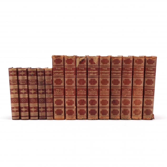 two-sets-of-leather-bound-books