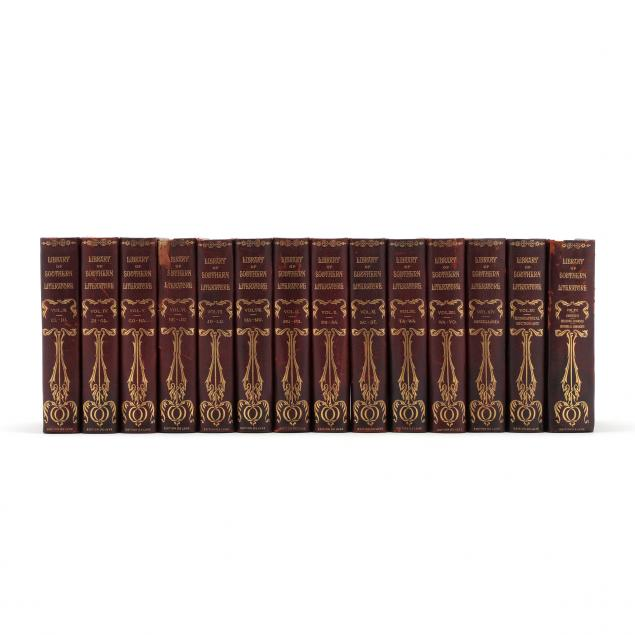 i-library-of-southern-literature-i-partial-set-being-14-of-16-volumes