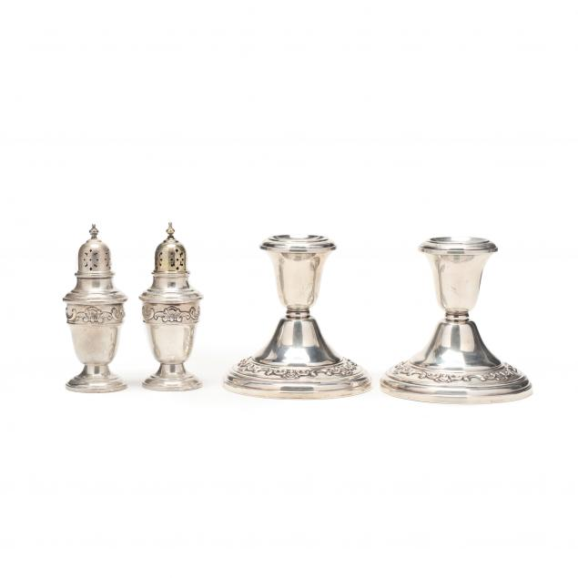 a-grouping-of-gorham-strasbourg-sterling-silver