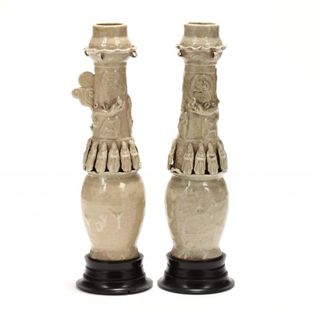 two-chinese-song-dynasty-style-funerary-vases