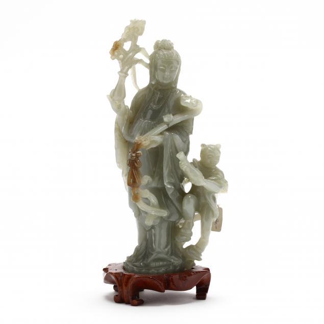 a-chinese-nephrite-jade-bodhisattva-carving