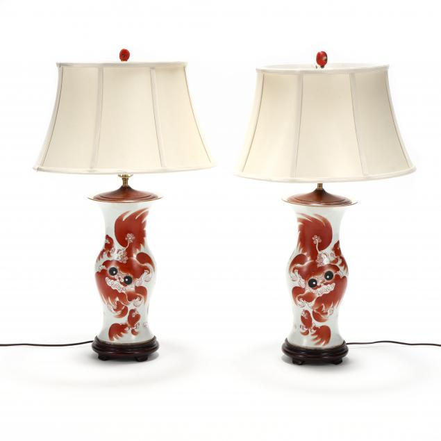 a-pair-of-chinese-porcelain-foo-lion-vase-lamps
