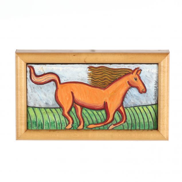 john-jack-savitsky-pa-1910-1991-running-horse