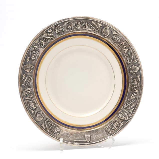 sterling-silver-rimmed-california-trap-shooting-trophy-plate