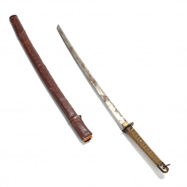 wwii-era-japanese-military-sword