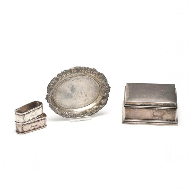 four-sterling-silver-items