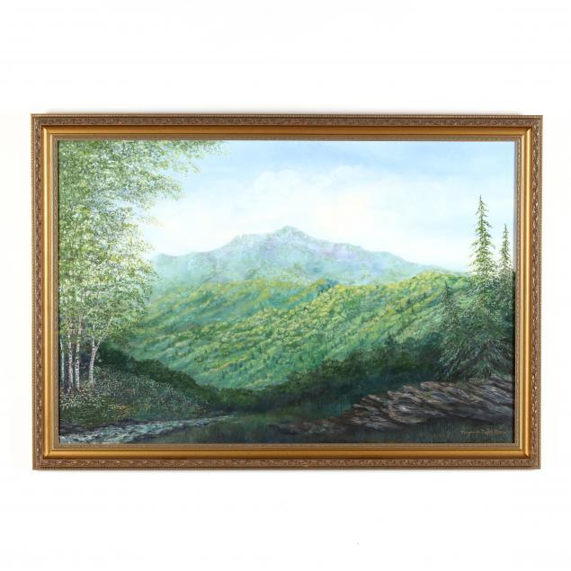 marguerite-taylor-moore-nc-1942-2015-blue-ridge-mountain-landscape
