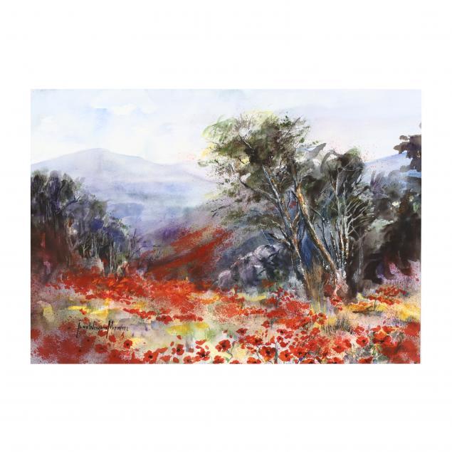 jane-wingate-mitchell-nc-mountain-field-of-poppies