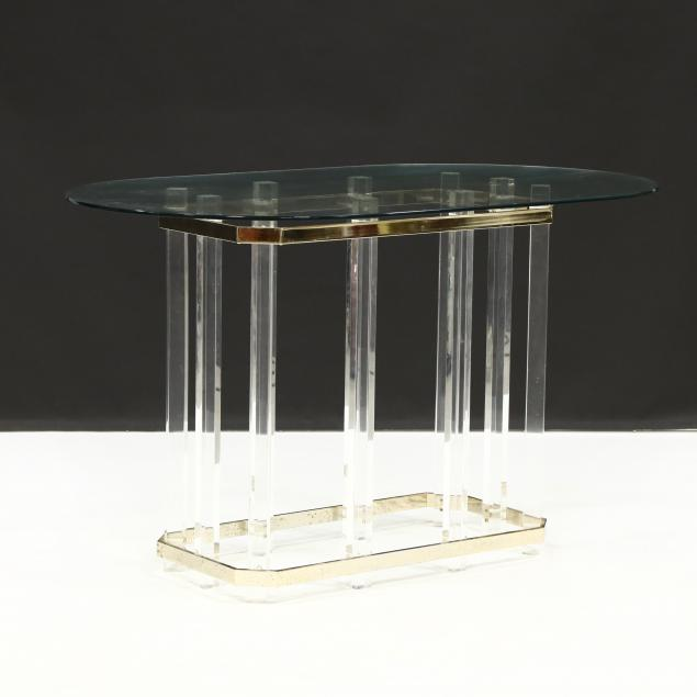 vintage-lucite-brass-and-glass-breakfast-table