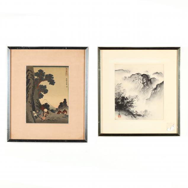 two-asian-works-on-paper