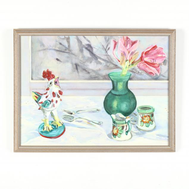 laura-frankstone-nc-still-life-with-ceramics-and-tulip