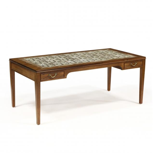 severin-hansen-rosewood-and-royal-copenhagen-tile-low-table