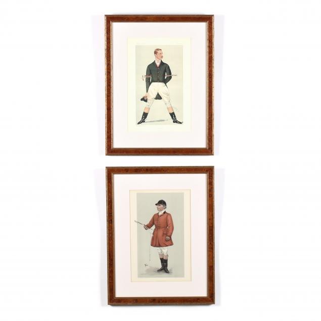 two-vanity-fair-prints-of-fox-hunters