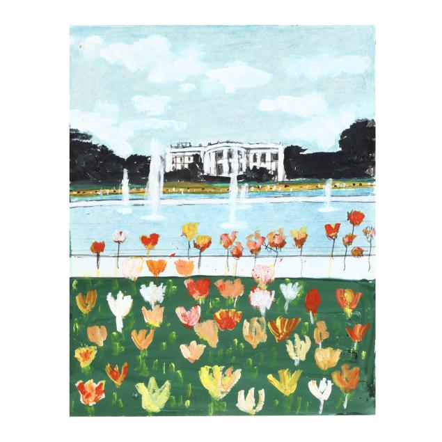 a-painting-of-tulips-in-bloom-on-the-south-lawn
