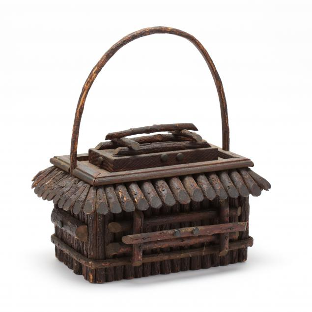 tramp-art-lidded-wooden-box-with-handle