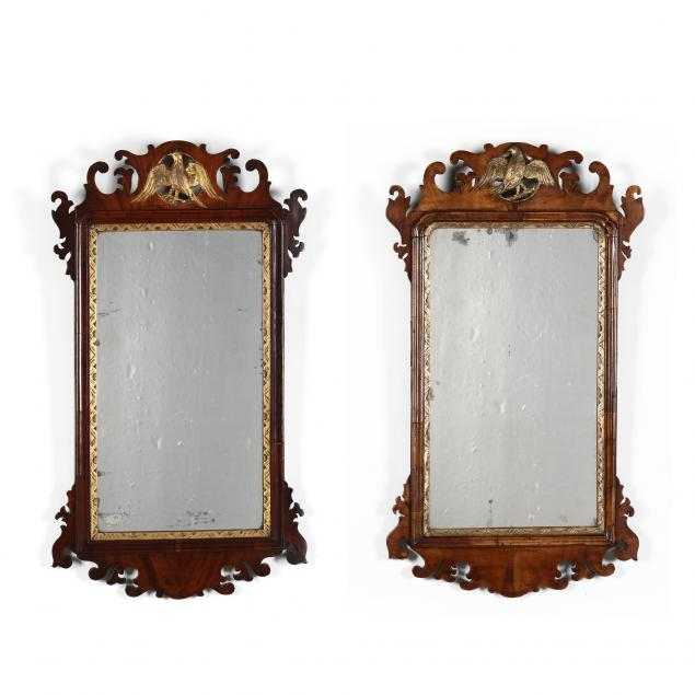 near-pair-of-chippendale-style-carved-and-gilt-mahogany-mirrors