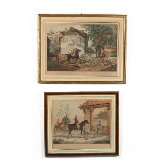 after-carle-vernet-french-1758-1836-two-hunt-scene-prints