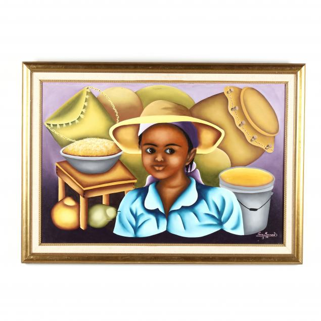 pierre-bernard-haitian-20th-21st-century-woman-with-market-wares