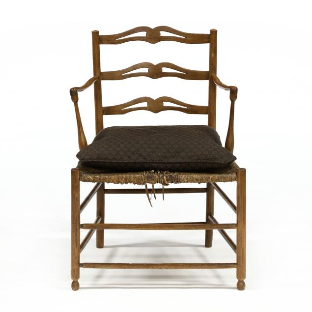 french-country-oak-armchair