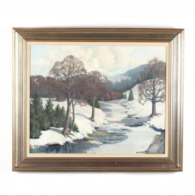 suzi-knapp-american-20th-century-i-vermont-winter-i