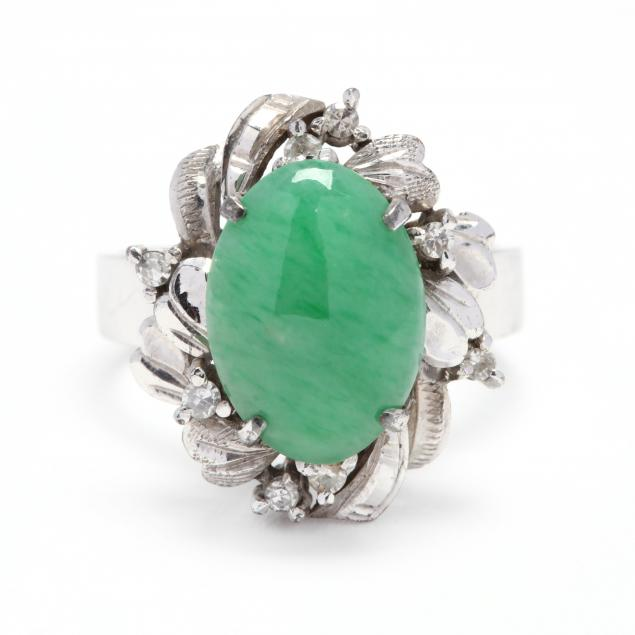 18kt-white-gold-jadeite-and-diamond-ring