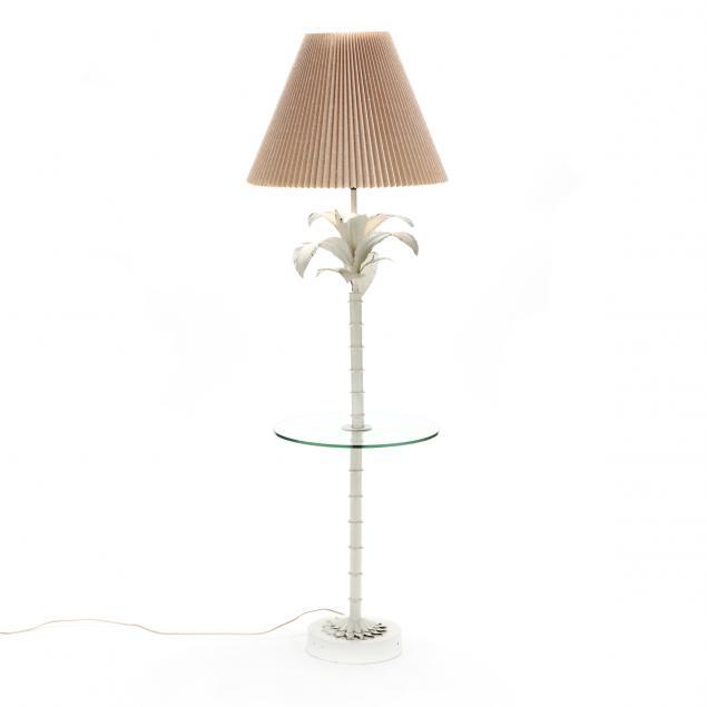 hollywood-regency-painted-metal-floor-lamp