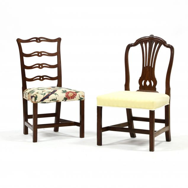 two-antique-side-chairs