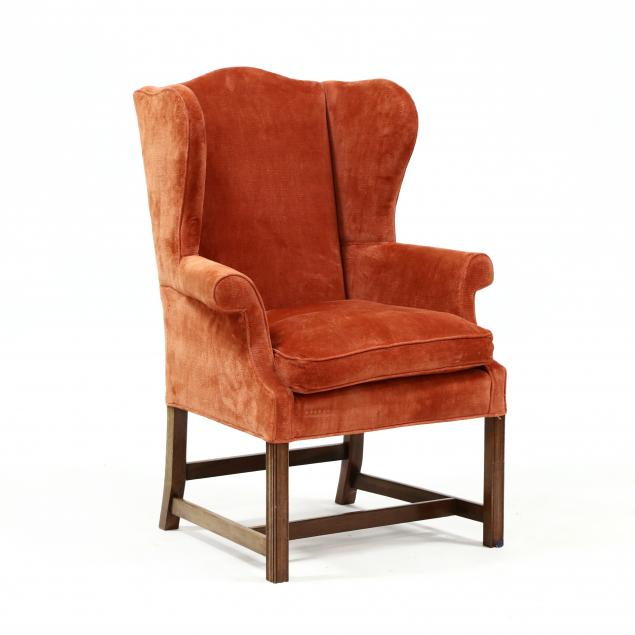 chippendale-style-mahogany-easy-chair