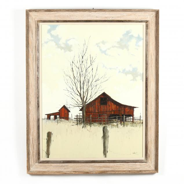 roy-bailey-american-1933-2002-i-red-barn-i