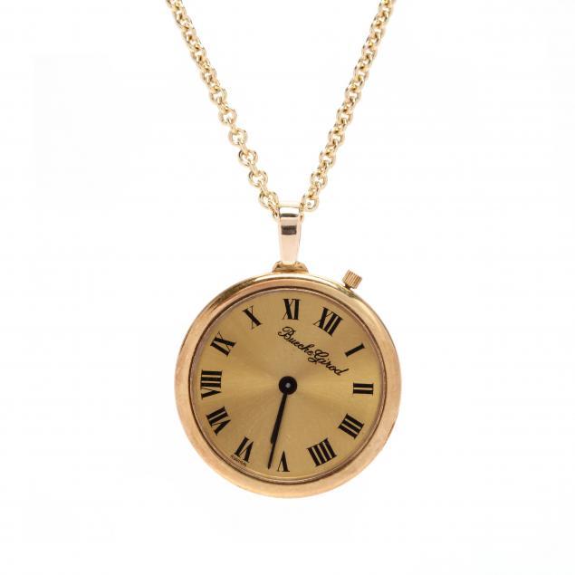 lady-s-18kt-pendant-watch-bueche-girod
