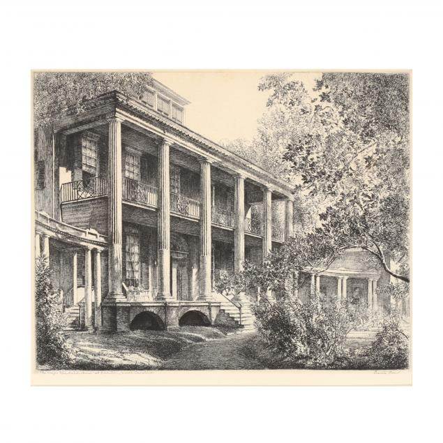 louis-orr-american-1879-1961-i-the-hayes-plantation-house-at-edenton-north-carolina-i