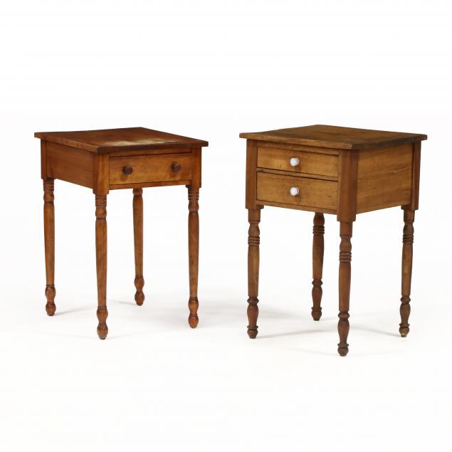 two-american-sheraton-work-tables