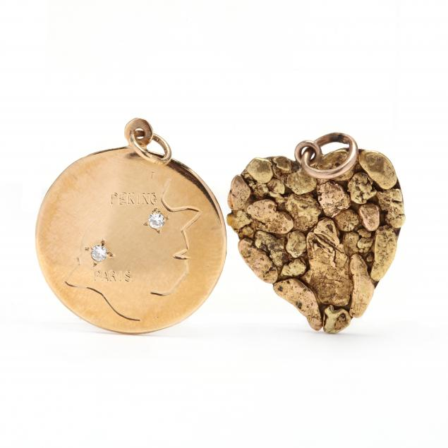 two-gold-pendant-charms